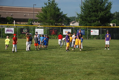 North Henderson Baseball camp 2013