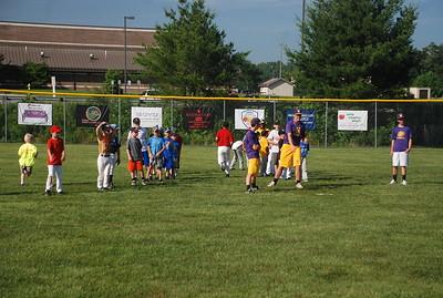 North Henderson Baseball camp 2013
