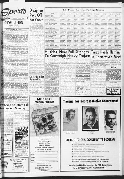 Daily Trojan, Vol. 47, No. 16, October 07, 1955