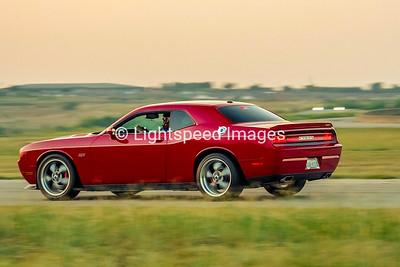 Craig Parsons - Red Dodge Challenger