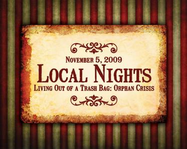 ORW: Local Nights 11-5-09 Foster