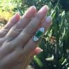 4.05ct Emerald and Old European Cut Diamond Ring 26