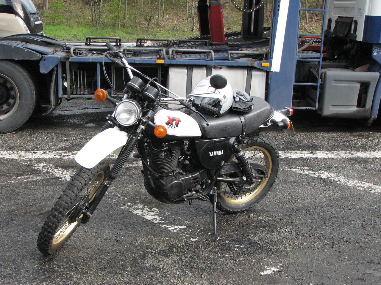 Luc's XT500