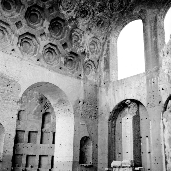 Architecture in the Roman Forum 1:Italy beyond 70mm. Photographs taken on 80mm (Medium format film)
