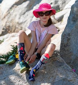Olivia 7-1-21 Climbing