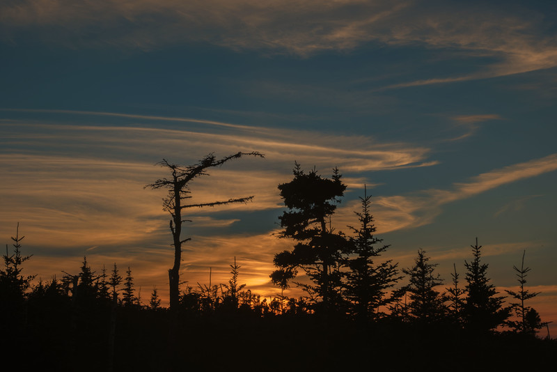 View from our deck, Little Barasway, Newfoundland
