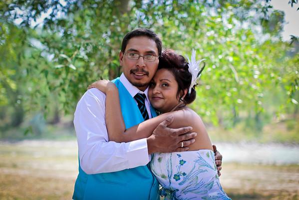 Stephanie and Domingo