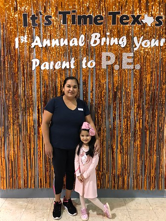 Bring Your Parent to PE January 2020