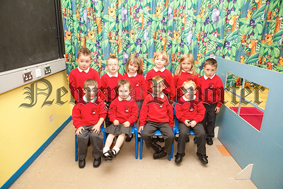 New Primary 1 pupils at Bessbrook PS.Pictured is Mrs Hunter's class. R1338020