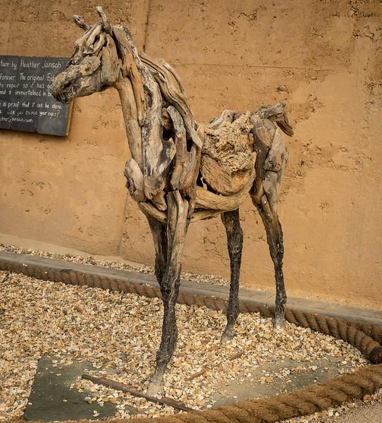 Driftwood Sculpture - Eden Project