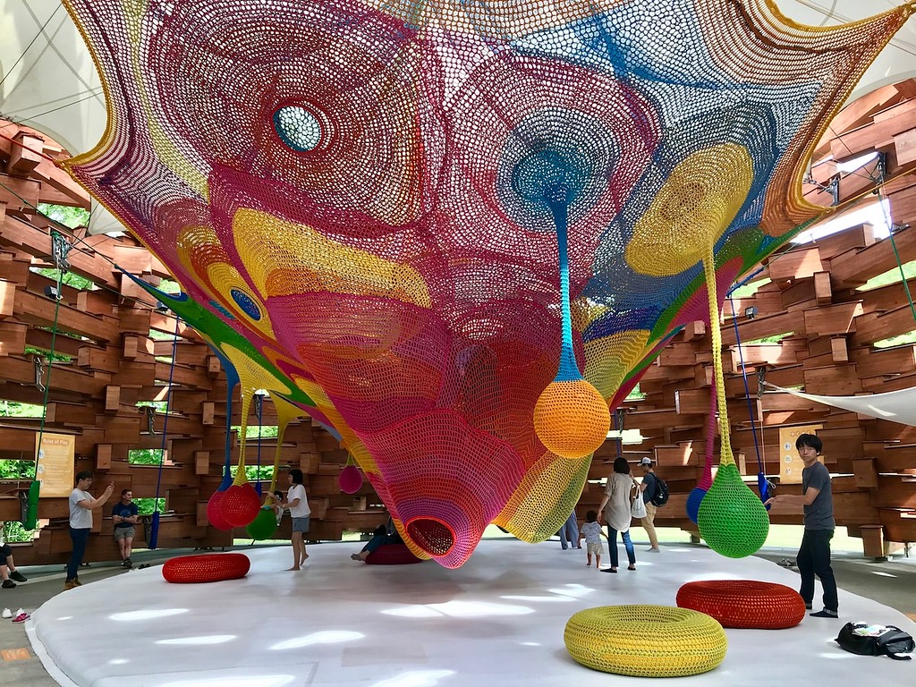 Horiuchi MacAdam's Knitted Wonder Space 2.
