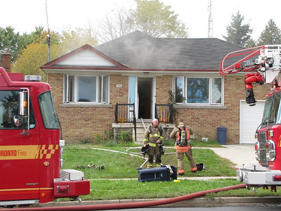 October 28, 2011 - 2nd Alarm - 1482 Danforth Rd.
