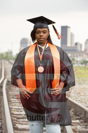 Eryn Cap and Gown