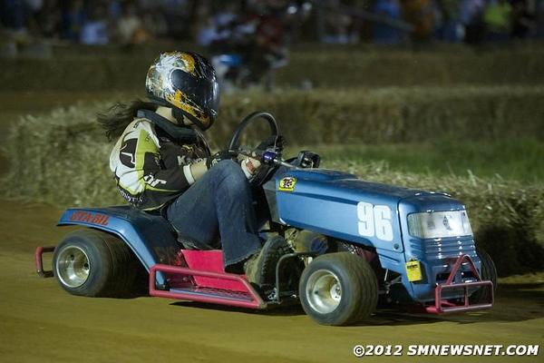 Lawn Mower Races Bowles Farm 2012