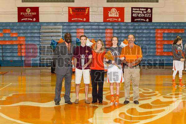 Boone Girls Varsity Basketball #3 - 2015