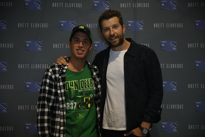 Brett Eldredge M&G | 10.11.18 | Kingston, RI