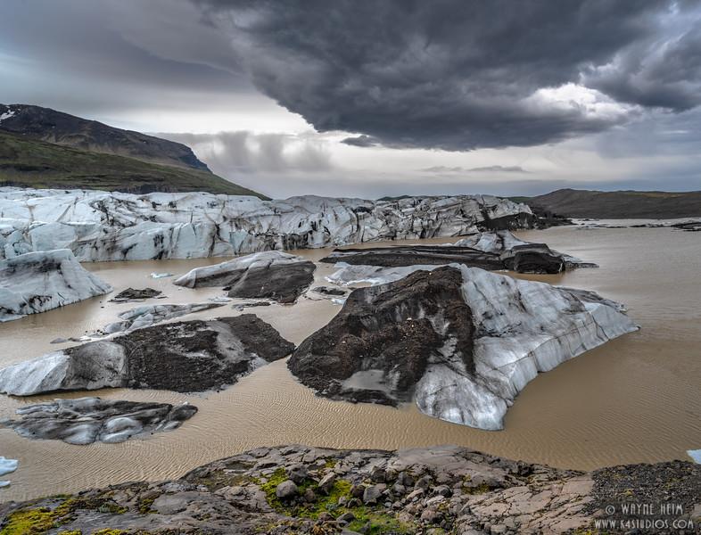 Jokulsarlon Glacier Lagoon  Photography by Wayne Heim
