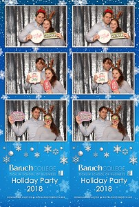 Baruch College Holiday Party