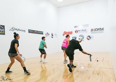 2021-08-13 Mixed Doubles - Pro Qtrs Sebastian Fernandez / Alexandra Herrera over Michelle De La Rosa / Daniel De La Rosa