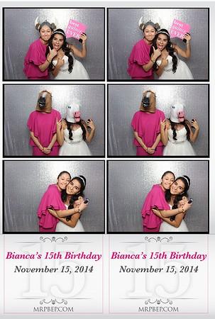 Bianca's XV   Nov. 15th 2014