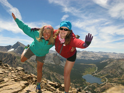 Tioga and Gaylor Warm up hikes 8-14-14