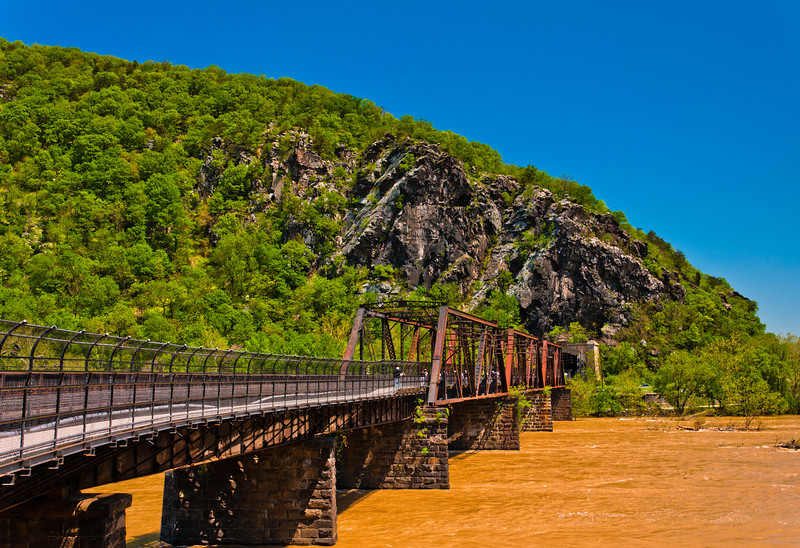 Railroad Bridge Over Potomac River, Harper's Ferry, WVA