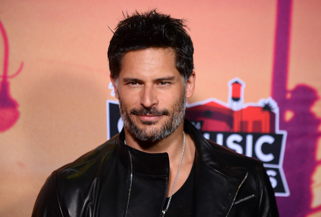 . Joe Manganiello poses in the press room at the iHeartRadio Music Awards at the Shrine Auditorium on Thursday, May 1, 2014, in Los Angeles. (Photo by Jordan Strauss/Invision/AP)