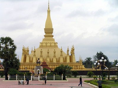 Vientiane - That Luang (Royal Stupa)