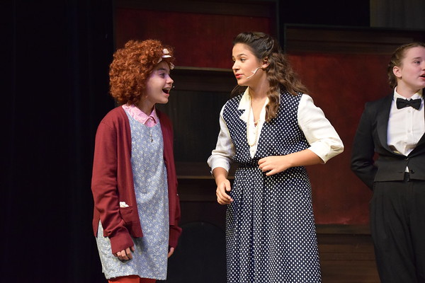 Annie Jr. - Eighth Grade Musical (Photos by Leigh Brigaud)