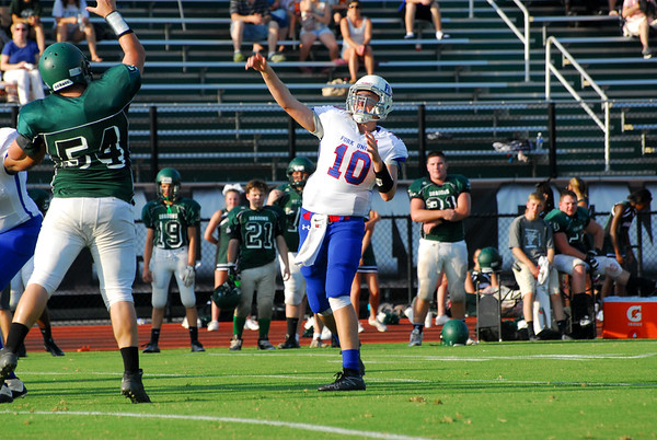 Football scrimmage with William Monroe
