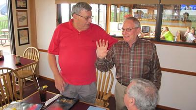 Bob Urban's Retirement Party, Penn's Peak, Jim Thorpe (5-31-2013)