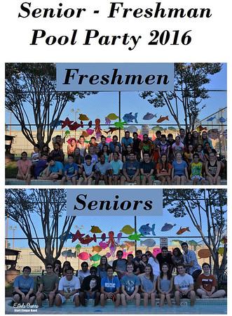 20160917 Senior - Freshman Pool Party