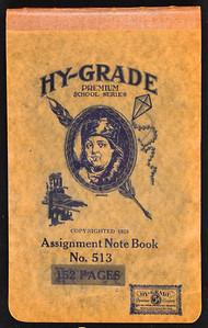 Gammon & Shine Hunting Journal 1933