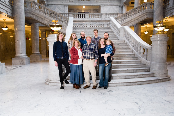 Pyne Family at UT State Capitol