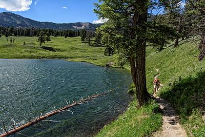 2016-06-24 Trout lake, Lamar valley