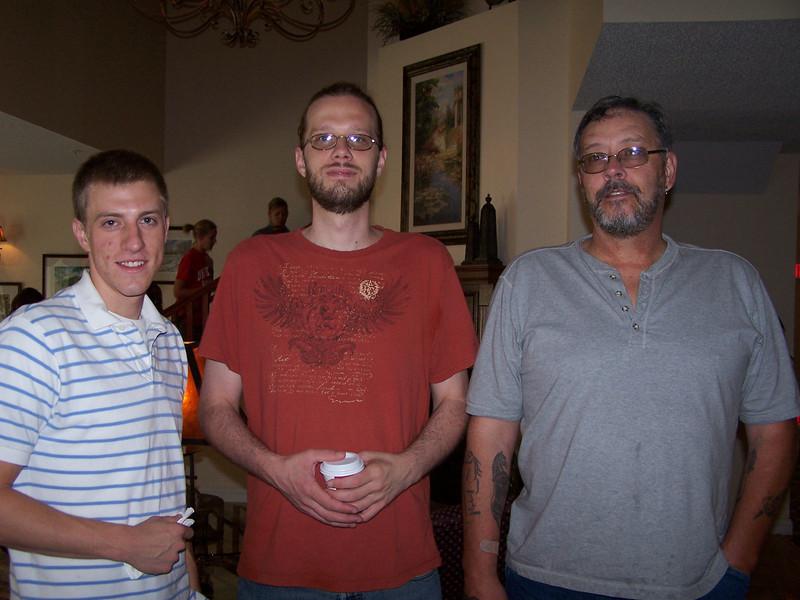 Kyle, Chris & Uncle Darrel