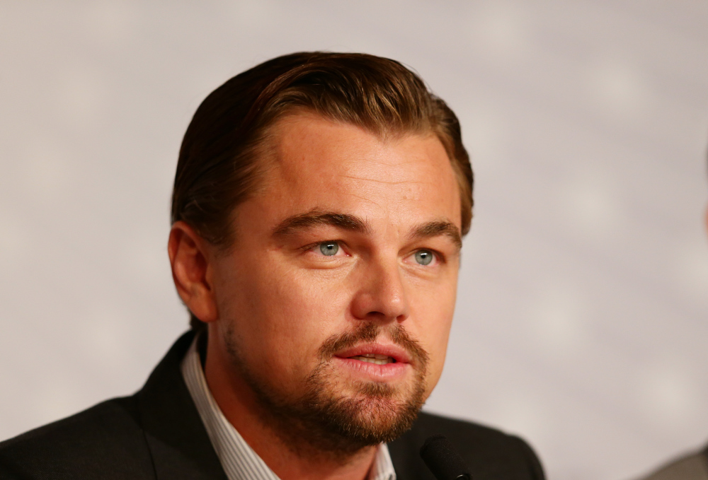 . Actor Leonardo DiCaprio attends the \'The Great Gatsby\' Press Conference during the 66th Annual Cannes Film Festival at the Palais des Festivals on May 15, 2013 in Cannes, France.  (Photo by Vittorio Zunino Celotto/Getty Images)