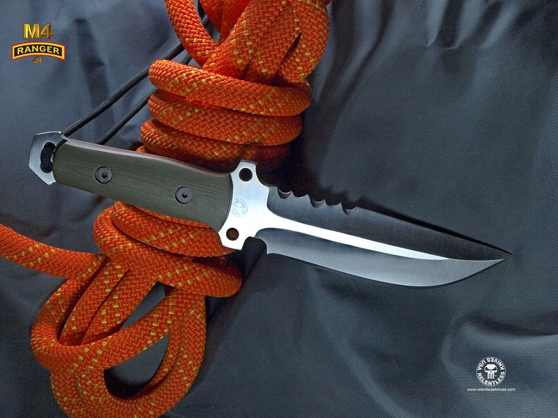 Relentless Knives M4 Ranger Jr