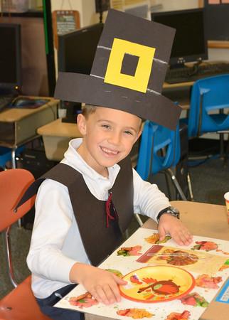 2nd Grade Reenacts First Thanksgiving Dinner