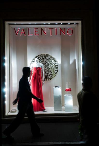 Valentino shop on Via Condotti, Rome