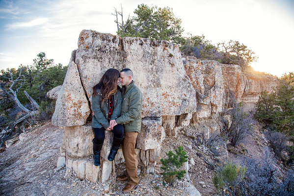 Derek and Erin | Shoshone Point Engagement