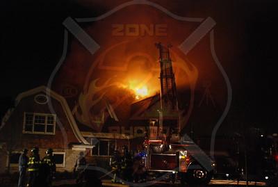Westbury F.D. Working Fire 119 Wheatley Rd. 4/28/08