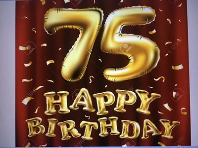 -23-  ПОЗДРАВЛЕНИЯ от Друзей в День моего 75 летия !!!!!!!!!                                                                                                                              HAPPY BIRTHDAY  75 !!!!!!!!!!!!!!!