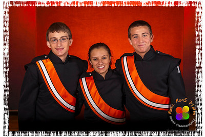 The NCHS Marching Ironmen of 2012-13