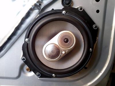 2000 pontiac Grand Am Sedan 4 Door Front Door Speaker Installation