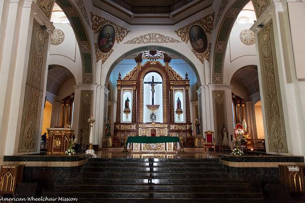 Naga City: Tour of Cathedral and Minor Seminary