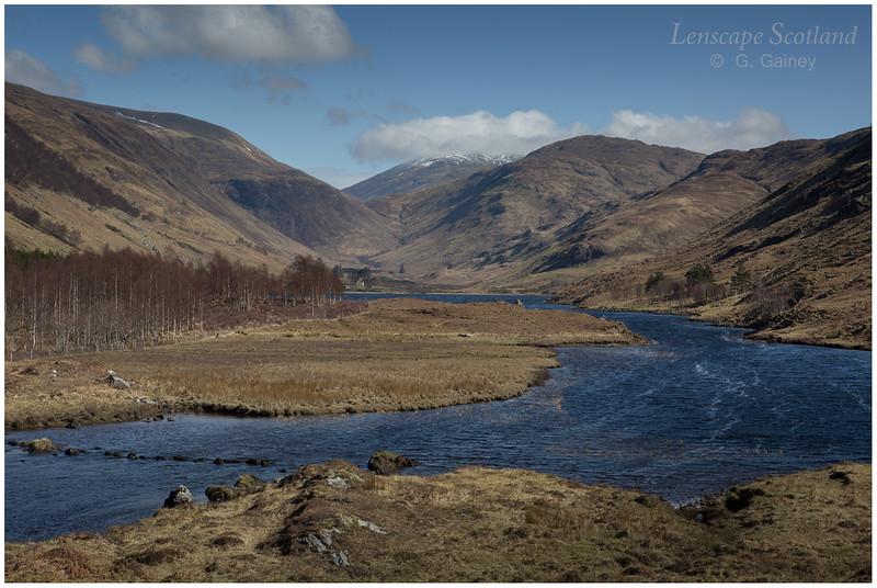 Loch na Leitreach from Glen Elchaig