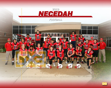 Necedah football FB19