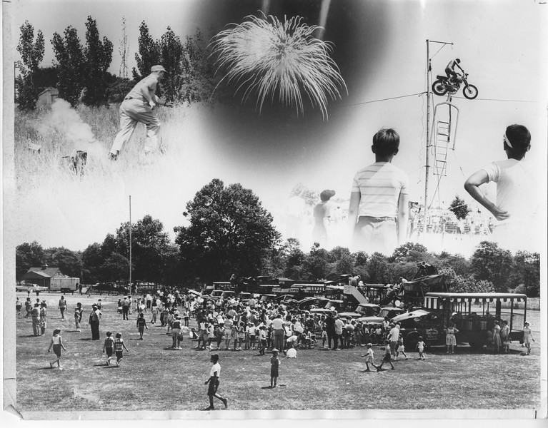 Fourth of July Celebration in Biertuempfel Park in the 1960s.