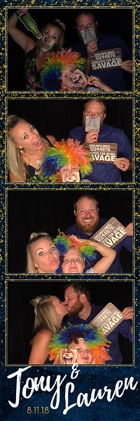 2018-08-11: Farmington MN Wedding Photo Booth